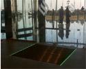 Eingangsmatten mit LED Rahmen und Sand-Auffangwannen